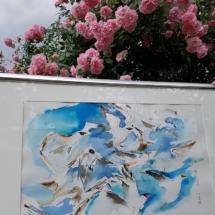 Schrei der Möwen 350,00 € Größe: 50x70 cm Original